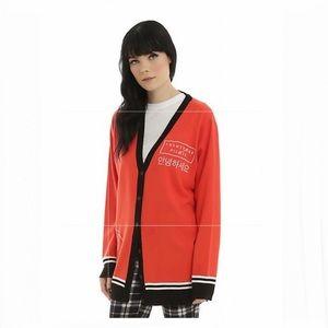 Twenty One Pilots Red Logo Girls Cardigan   XS